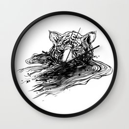 Cry Me A River Wall Clock