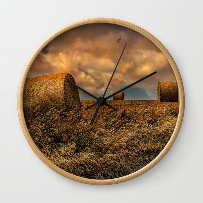 The Hayfield Wall Clock