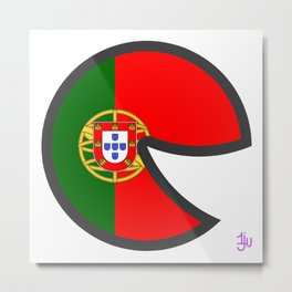 Portugal Smile Metal Print