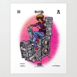 "Mood Music: ""Boombox"" Art Print"