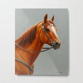 Red Dun Western Quarter Horse Metal Print