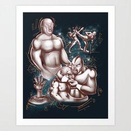 Arroz Con Pollo in: Death to the Undead Art Print