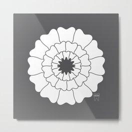 Bloomin' Smile Custom Name Metal Print