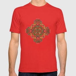 Little Red Riding Hood mandala T-shirt