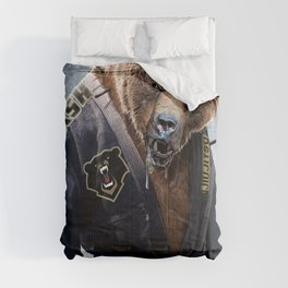 Jiu Jitsu Grizzly Comforters