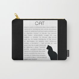 Cat Defined Carry-All Pouch