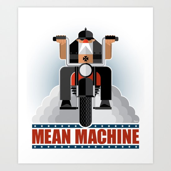 Mean Machine Art Print