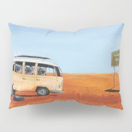 Going to the Beach Pillow Sham