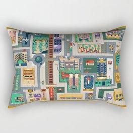 Map of life Rectangular Pillow