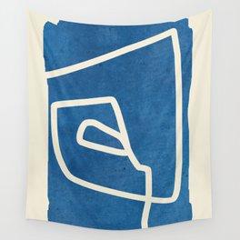 abstract minimal 57 Wall Tapestry