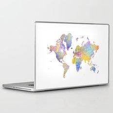 World Map 3 Laptop & iPad Skin