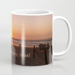 Shabbat Shalom From Tela-Viv Israel. Coffee Mug