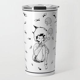 Drowning Girl Travel Mug