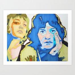 Elsa Jagger Art Print