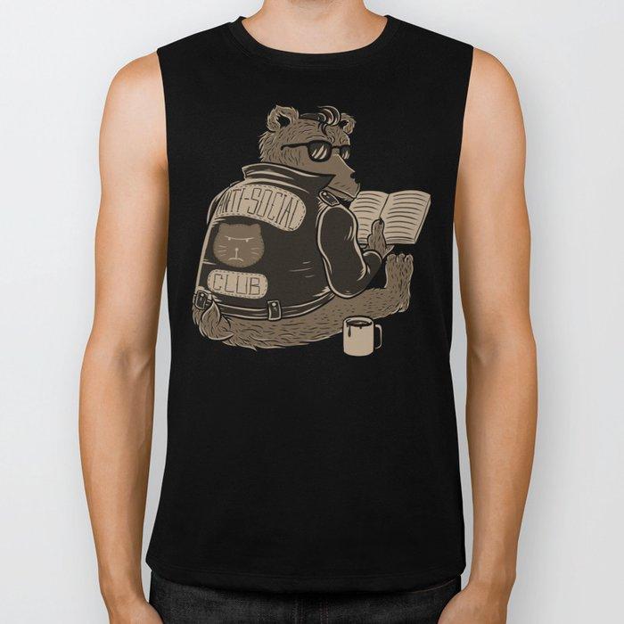 Anti Social Club Biker Tank
