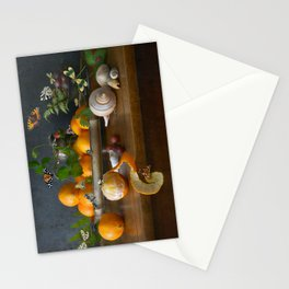 Still Life with Clementines Stationery Cards