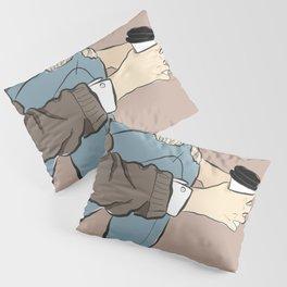 Fashion Latte To Go Pillow Sham