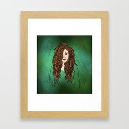 Little By Little Her Smile Returned Framed Art Print