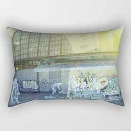 The city remembers; fruit and vegetable market Rectangular Pillow
