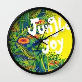 jungle joy Wall Clock