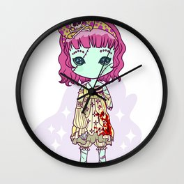 Dead eyes Wall Clock