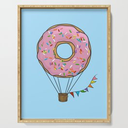 Donut Hot Air Balloon Serving Tray