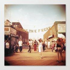 Coney Island #1 Canvas Print