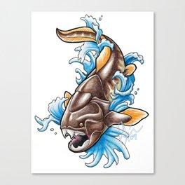 Dunkleosteus Canvas Print