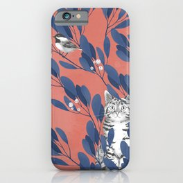 in the wild // repeat pattern iPhone Case