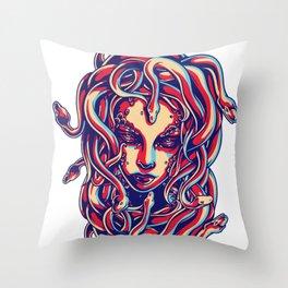 Beautiful Goddess Medusa Throw Pillow