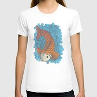 koi T-shirts featuring KOI by Matthew Taylor Wilson