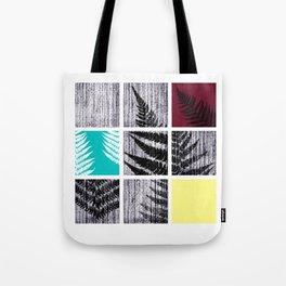Square Fern Tote Bag