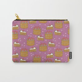 Strawberry Cake Carry-All Pouch