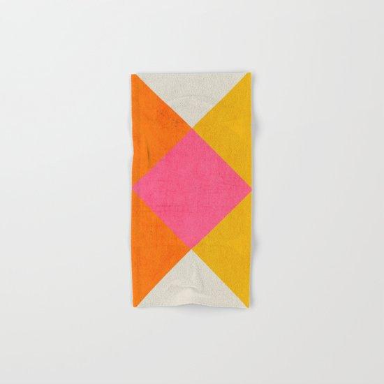 summer triangles Hand & Bath Towel