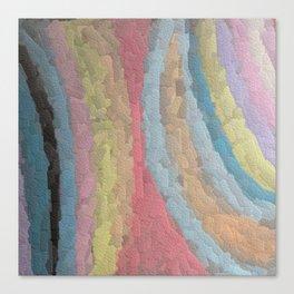 Embossed Chalk Canvas Print