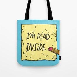 I'm Dad Inside Tote Bag