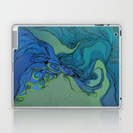 abstract floral composition 3 Laptop & iPad Skin