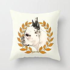 French Bulldog - @french_alice dog Throw Pillow