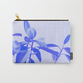 Rubber Plant Riso Carry-All Pouch