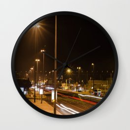 Sun Night Wall Clock