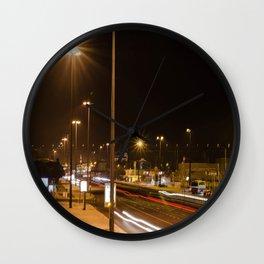 Sun Night Wall Clock