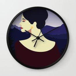 Girl Retro Style 09 Wall Clock
