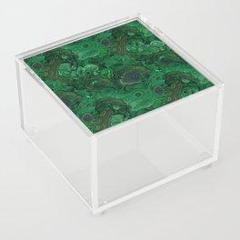 malachite Acrylic Box