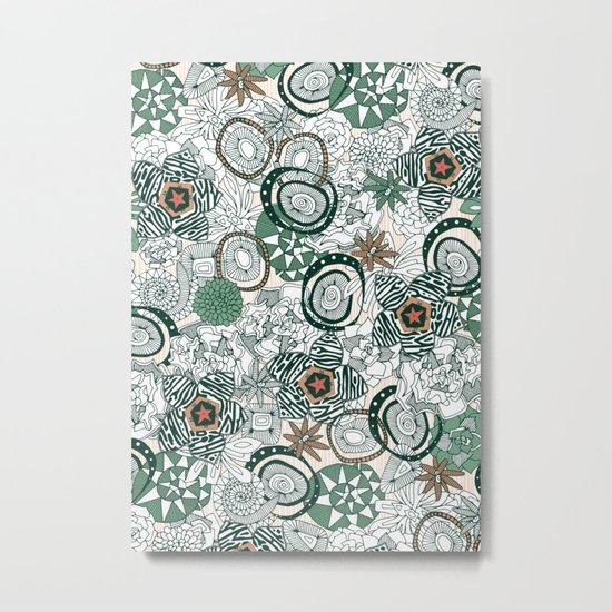 succulents limited Metal Print