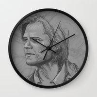 bitch Wall Clocks featuring Bitch by Nikki Homicide