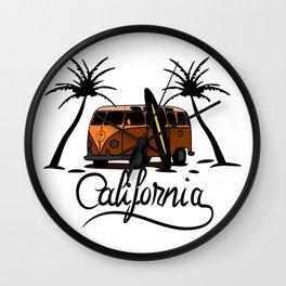 Calfornia Wall Clock