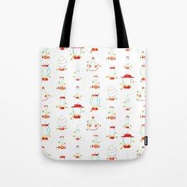 Hummingbird Feeders Pattern Tote Bag