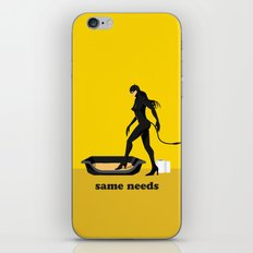 about same needs iPhone Skin