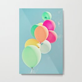 Balloon Mania Metal Print