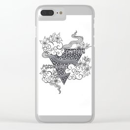 Limitless Possibilities Clear iPhone Case